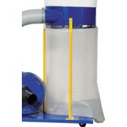 Plastic collection extraction bags