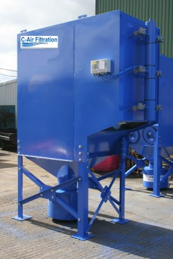 Reverse pulse Jet Dust Extraction System CA12