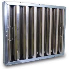 Heavy Duty Stainless Steel Baffle Grease Filters