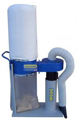 Portable dust extractor, 1020m3/h, with floorsweep Hobby Range